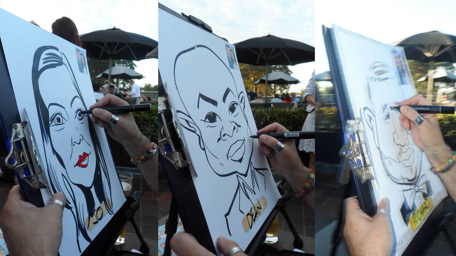 Rob The Super Caricaturist: A Supplier Success Story